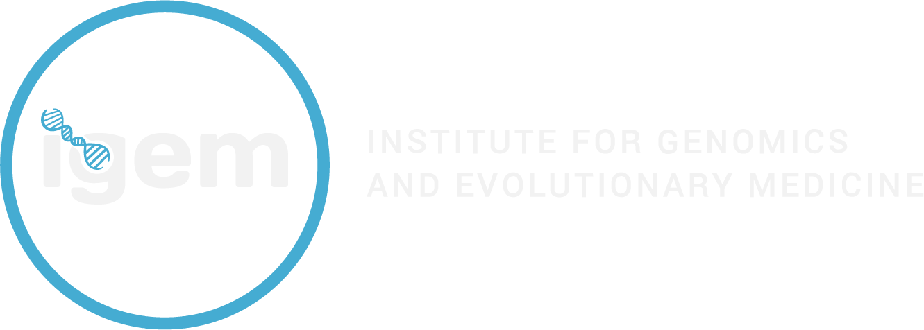 Insitute for Genomics and Evolutionary Medicine (iGEM) Logo